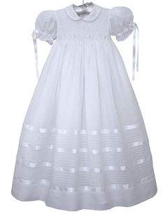 Special Baby Girls Christening Gown with Ribbons – Carousel Wear