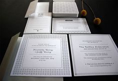 wedding invitation letterpress - Google Search