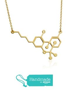 Thc Molecule Necklace Marijuana Pendant -Gold Filled or sterling silver 925 Chemistry Jewelry Cannabis Necklace handmade jewelry from Masterpiece Cannabis, Handmade Necklaces, Handmade Jewelry, Molecule Necklace, Arrow Necklace, Gold Necklace, Simple Jewelry, Gold Pendant, Chemistry