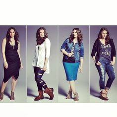 @jennierunk for @torridfashion fall! #fallfashion #torrid #wearwhatyoulove #pencilskirts #jeans #tights #colour #fashion #thecurvycollab