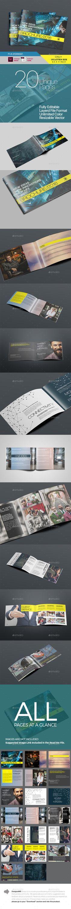 Brochure — InDesign INDD #clean #marketing kit • Download ➝ https://graphicriver.net/item/color-juice-brochure/19053277?ref=pxcr