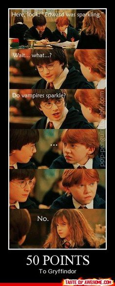 Making fun of Twilight... it never gets old!   :D