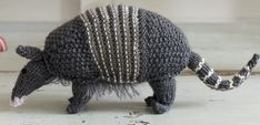 Armadillo ~ Free Knitting Pattern