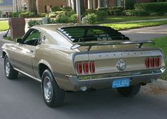 1969 Ford Mustang Mach I love the rear on that girl! 1967 Mustang, Mustang Mach 1, Ford Mustang Shelby Cobra, Ford Mustang For Sale, Mustang Cars, Shelby Gt500, Mustang Fastback, Ford Mustangs, Trailers