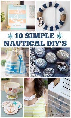 10 Simple Nautical DIY's