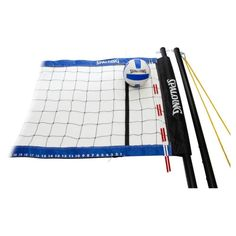 Spalding Professional Volleyball Set, Blue, 1 #blue #volleyball #professional #spalding