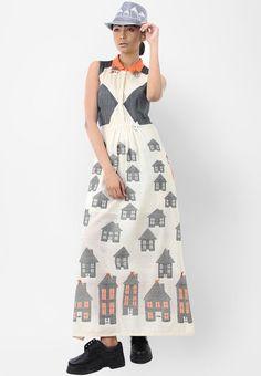 Debashri Samanta - Fully Handwoven Tussar Cotton Dress