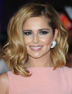 Cheryl Cole Shoulder Length Hair | ... hairstyles hairstyles by color honey shoulder length hairstyles
