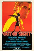 """New ep of Book Vs. Movie with """"Out of Sight"""" George Clooney Jennifer Lopez Steven Soderbergh and Elmore Leonard"""