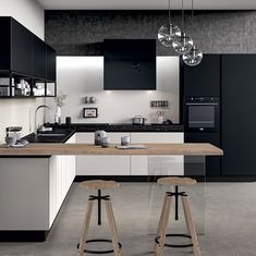 Incredible Industrial Style Kitchen 2020 Trends (Key Elements & Design Ideas) Industrial Style Kitchen – As one of the … Victoria's Kitchen, Home Decor Kitchen, Kitchen Cupboards, Industrial Kitchen Design, Modern Kitchen Design, Modern Kitchen Interiors, Cuisines Design, Interior Design Inspiration, Design Ideas