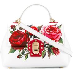 Best Women's Handbags & Bags : Dolce & Gabbana at Luxury & Vintage Madrid , the best online selection of Luxury Clothing Pre-loved with up to discount Dolce & Gabbana, Dolce And Gabbana Handbags, Cute Purses, Purses And Bags, White Leather Handbags, Painted Bags, Madrid, Handbags On Sale, Tote Handbags