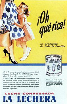 Leche condensada La Lechera. Nestlé. España. Spain