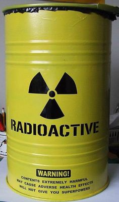 Radioactive waste barrel for trash can (Hitman Graphics on Flickr)