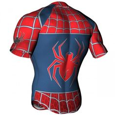 Scorpion Sports spider theme rugby shirt pattern, ideal shirt for rugby tours and OCR events.