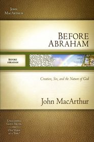 Explore the Old Testament with respected Bible teacher MacArthur! This 12-week study covers Genesis 1--11 from creation to the tower of Babel. You'll examine historical contexts; meet fascinating characters such as Adam and Eve, Cain and Abel, and Noah and his sons; and discuss thematic and doctrinal issues. For individuals or small groups. 128 pages, softcover from Nelson.