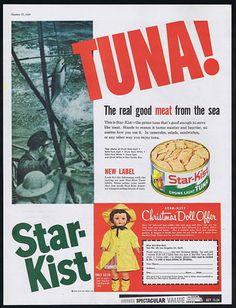 1959 starkist tuna ad