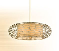 Corbett Lighting Pendant Fixture - Cesto Ceiling Mount Hanging