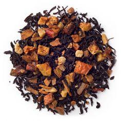 DAVIDsTEA maple sugar. Black tea, apple, cinnamon, maple syrup, monk fruit, natural maple flavouring.