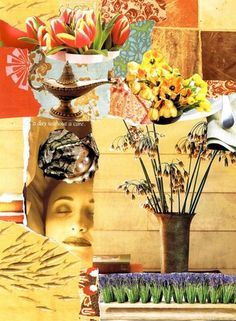 Expressive Art Therapy Exercise # 64 - Create a Calming Collage - Self-Soothing for Emotional Overwhelm by Shelley Klammer