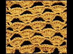 Crochet : Abanicos Calados