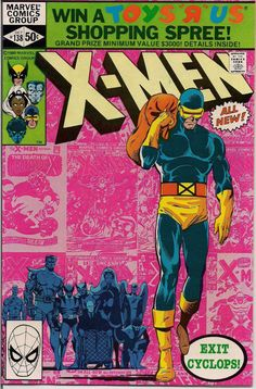 Uncanny X-Men Cover: Cyclops and X-Men Marvel Comics Poster - 30 x 46 cm Best Comic Books, Marvel Comic Books, Marvel Characters, Comic Books Art, X Men, Hq Marvel, Marvel Dc Comics, Mutants Xmen, John Byrne