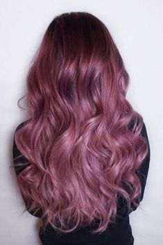 Chocolate Lilac Hair Ideas is the Delicious New Color Trend ★ See more: http://lovehairstyles.com/chocolate-lilac-hair-ideas/