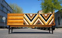 Langes Sideboard, 1970er bei Pamono kaufen