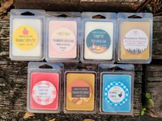 Mason Jar Candles, Soy Candles, Campfire Marshmallows, Custom Mason Jars, Craft Booth Displays, Blueberry Cobbler, Apple Harvest, Soy Wax Melts, Kitchen Collection