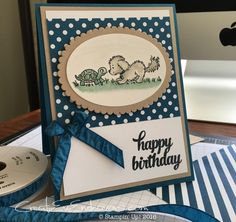 Bella & Friends Crumb Cake Mint Macaron Dapper Denim by Creat-EV Stamping - Cards and Paper Crafts at Splitcoaststampers
