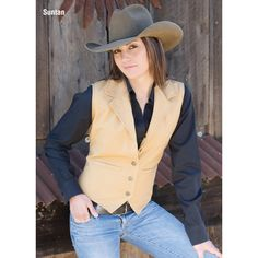 Ariat Womens Roaming Scarf Vest