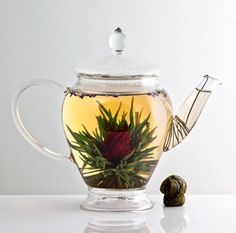 """Tea Blossom-A Melbourne company who have created """"blooming teas"""" that are organically grown and harvested."""