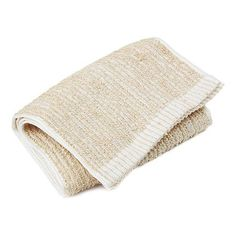 Exfoliating Towel - Material :  TOP LAYER: Jute 95% & Polyester 5% BASE : Polyester 100%  Size : 7.5 x 39.4