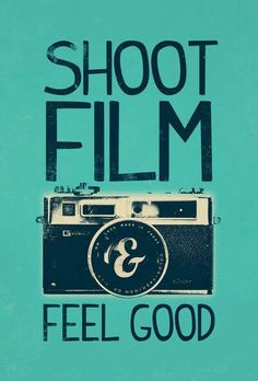 We can help you with this. It does feel good to shoot film every now and then, it really does.