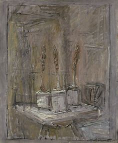 Hamburger Kunsthalle offers a new perspective on the art of Alberto Giacometti - Alain. Alberto Giacometti, Giovanni Giacometti, Giacometti Paintings, Statues, Monochromatic Art, Famous Sculptures, Italian Paintings, First Art, Modern Artists