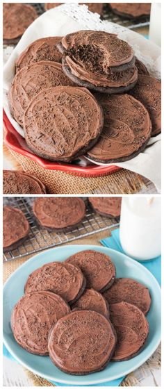 Iced Chocolate Cookies Recipe