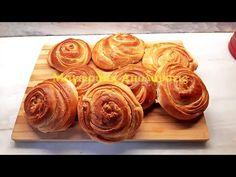 Ουδέτερη ζύμη σαν σφολιάτα για αλμυρά και γλυκά εδέσματα Doughnut, Muffin, Drink, Breakfast, Youtube, Desserts, Food, Morning Coffee, Tailgate Desserts