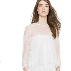 8b81b6c2428 La Redoute Womens Lace Wedding Blouse Beige Size Us 16 Fr 46 -- Details can  be found by clicking on the image.