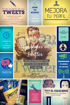 Cómo conseguir seguidores en Twitter #infografia #infographic #socialmedia vía @blogpocket