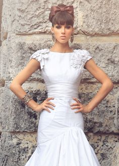 if I were to get married again, pretty sure I'd wear a Jorge Manuel dress.
