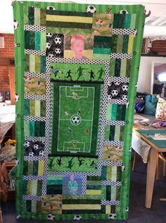 Fodbold tæppe