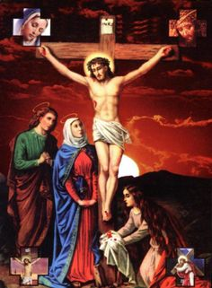 gathering the precious blood of Jesus Christ