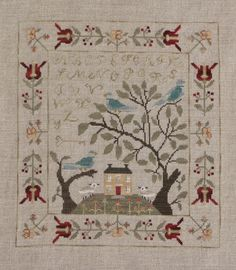 Birds of a Feather Mystery Sampler - With Thy Needle and Thread