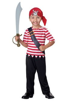 Awesome Pirate Costumes - Toddler Pirate Costume just added.  sc 1 st  Pinterest & Toddler Pirate Costume - Party City $9.99 | Disney cruise ...