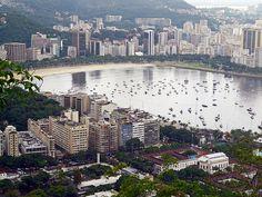 Enseada de Botafogo - Baía de Guanabara - Rio de Janeiro - Brasil - Brazil