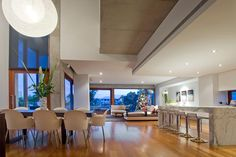 Amalfi Residence located on the Isle of Capri, a large island on the Nerang River in Gold Coast city, Australia by Bayden Goddard Design Architects