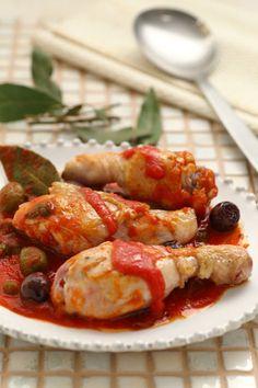 Chicken Drumsticks Baked in Foil (Fusi di pollo al cartoccio) | Cirio