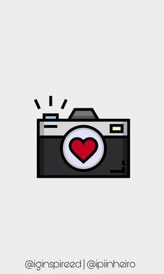 Camera Drawing, Camera Art, Camera Tattoos, Plant Wallpaper, Insta Icon, Aesthetic Stickers, Scroll Saw Patterns, Instagram Highlight Icons, Mini Tattoos