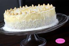 MyWaySweets: Tort malinowo-kokosowy