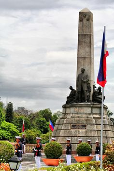 Rizal Monument: Honoring the National Hero of the Philippines Philippines Cities, Manila Philippines, Rizal Park, Jose Rizal, Down South, Pinoy, Trip Advisor, The Good Place, Tourism