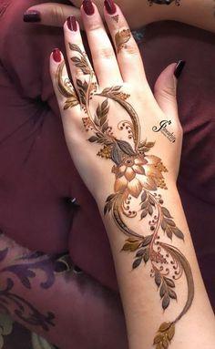 Modern Henna Designs, Floral Henna Designs, Arabic Henna Designs, Latest Bridal Mehndi Designs, Mehndi Designs 2018, Mehndi Designs Book, Mehndi Designs For Girls, Mehndi Design Photos, Mehndi Designs For Fingers